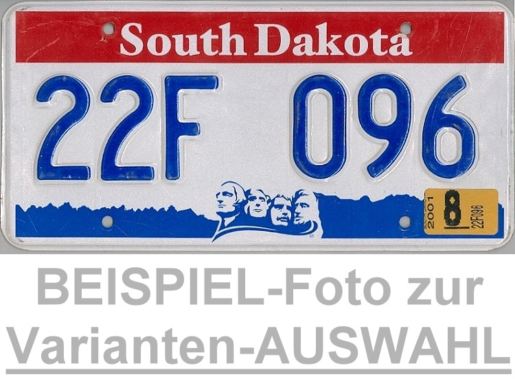USA Nummernschild SOUTH CAROLINA ~ US Kennzeichen LICENSE PLATE ~ Blechschild
